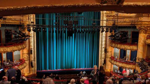 Emerson Colonial Theatre, section: Dress Circle, row: J, seat: 109
