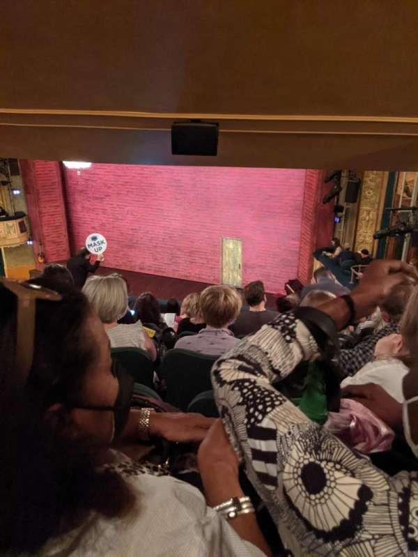 Shubert Theatre, section: Mezzanine R, row: J, seat: 18