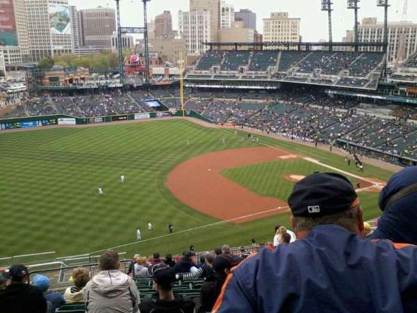 Comerica Park, section: 337, row: 12, seat: 8