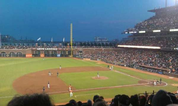 Oracle Park, section: 224, row: I, seat: 10