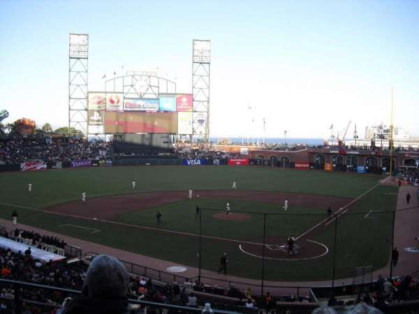 AT&T Park, section: 218, row: C, seat: 6