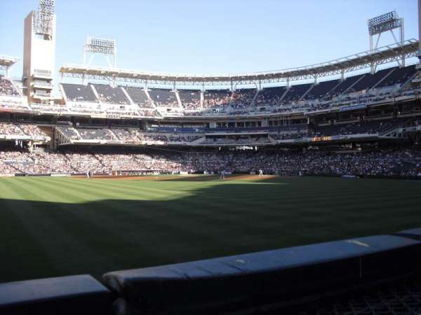 PETCO Park, section: 134, row: 1, seat: 6
