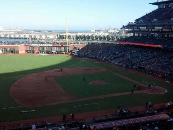 Oracle Park, section: Suite 45, row: A, seat: 1