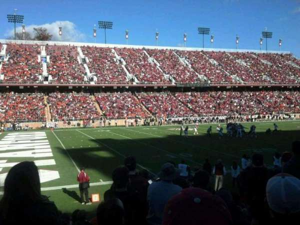Stanford Stadium, section: 117, row: K, seat: 4