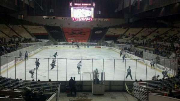 Cow Palace, section: 1, row: H, seat: 12