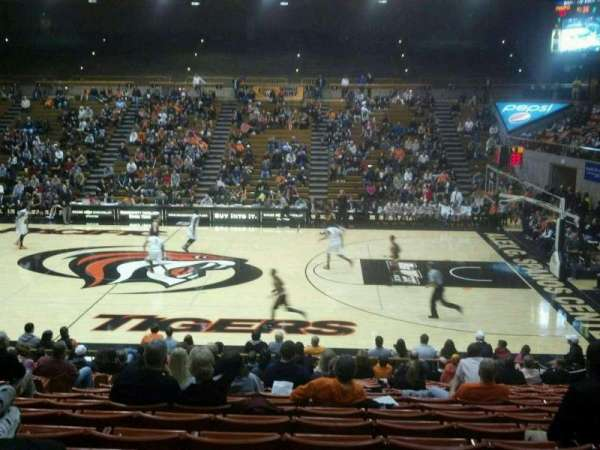 Alex G. Spanos Center, section: H, row: Q, seat: 9
