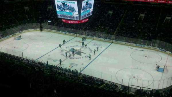 SAP Center, section: P2, row: 2, seat: 2