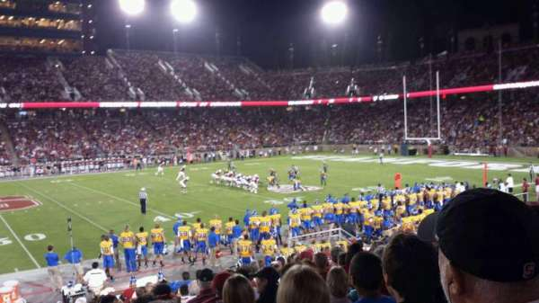 Stanford Stadium, section: 133, row: P, seat: 12