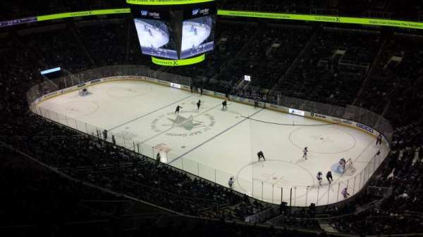 SAP Center, section: P35, row: 2, seat: 12