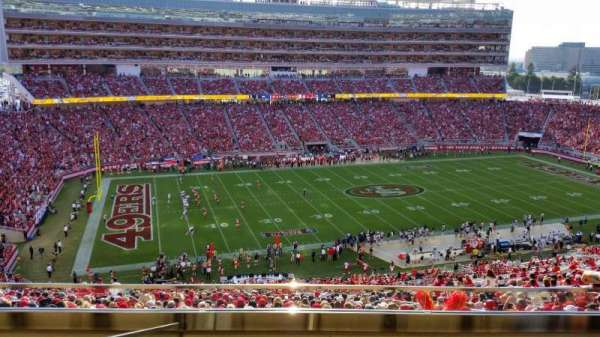 Levi's Stadium, section: OC20, row: 2, seat: 17