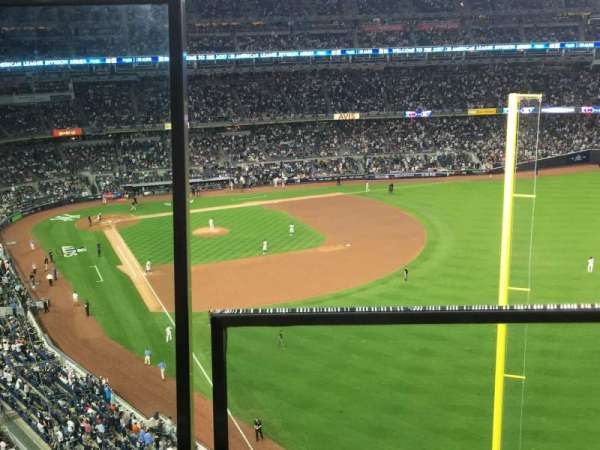 Yankee Stadium, section: 407B, row: 1, seat: 20