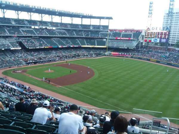 Truist Park, section: 314, row: 8, seat: 2