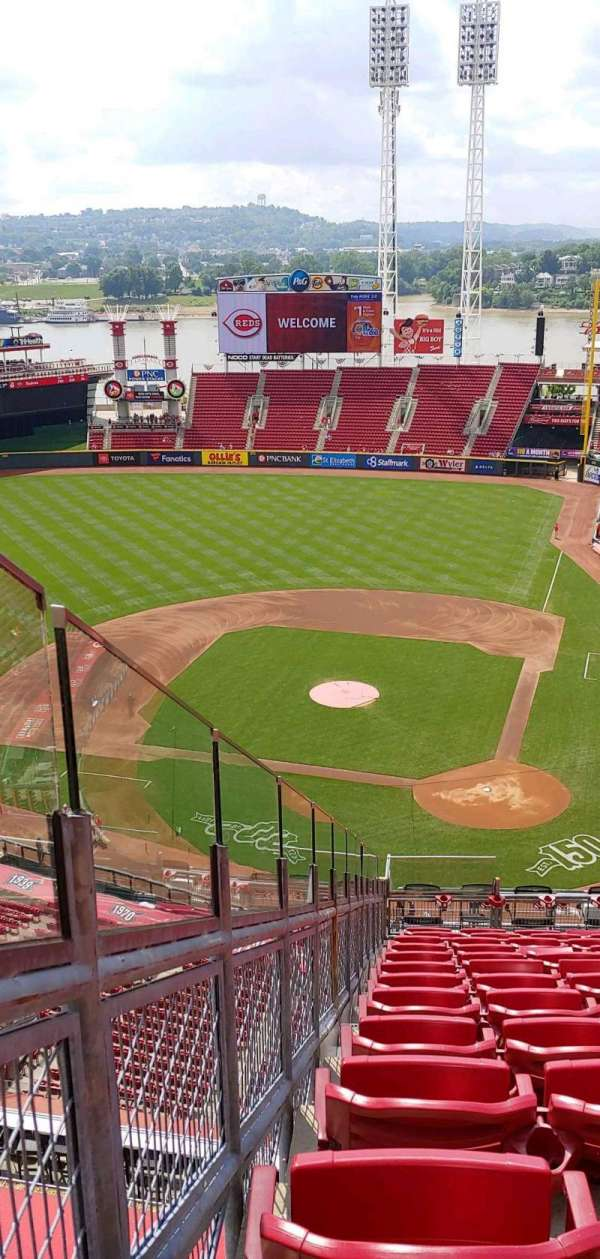 Great American Ball Park, section: 520, row: M, seat: 10