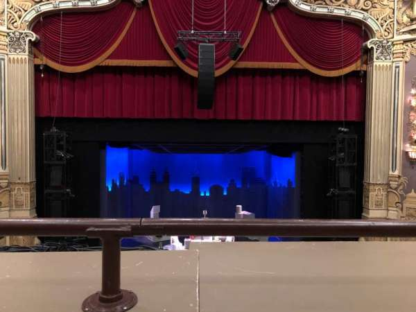 Nederlander Theatre (Chicago), section: Loge Center, row: A , seat: 304