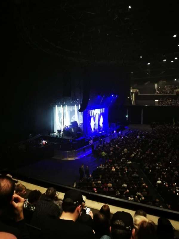 The SSE Hydro, section: 203, row: E, seat: 45