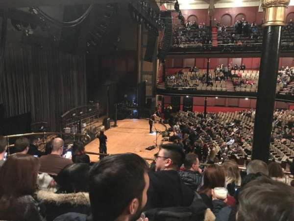 Massey Hall, section: LSB, row: G, seat: 5