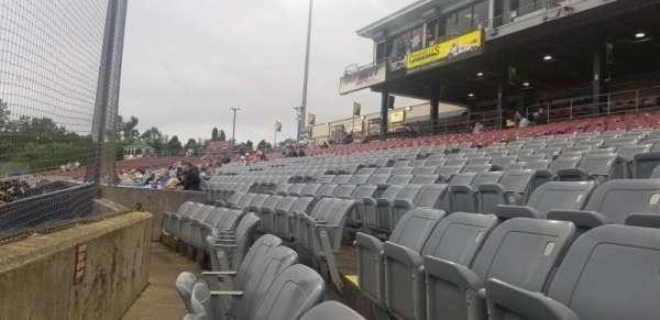 Dodd Stadium, section: 10, row: AA, seat: 6