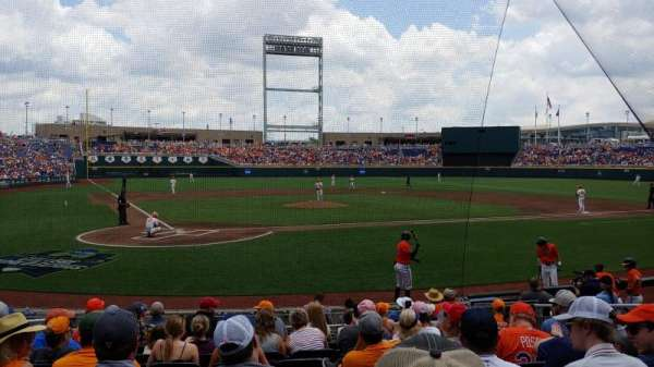 TD Ameritrade Park, section: 110, row: 12, seat: 5