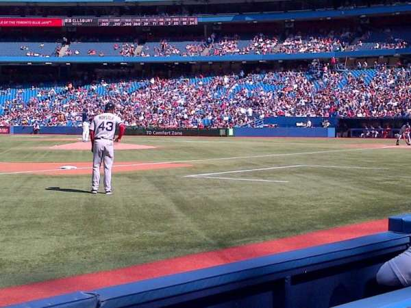 Rogers Centre, section: 129R, row: 2, seat: 9