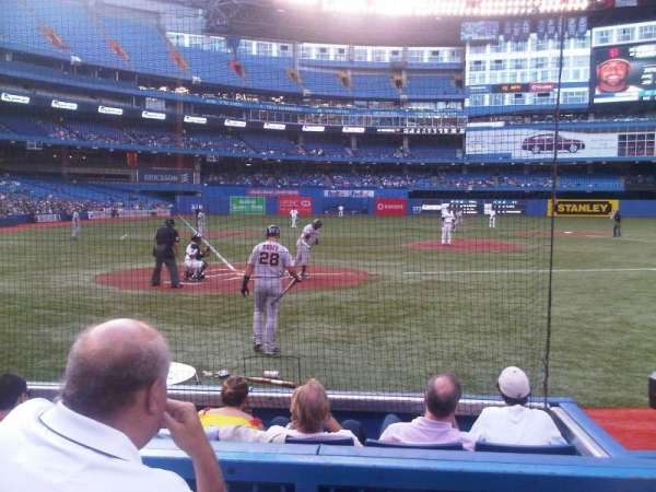 Rogers Centre, section: 120R, row: 3, seat: 2