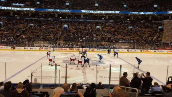 Scotiabank Arena, section: 108, row: 11