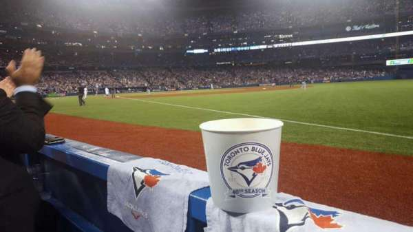 Rogers Centre, section: 113c, row: 1