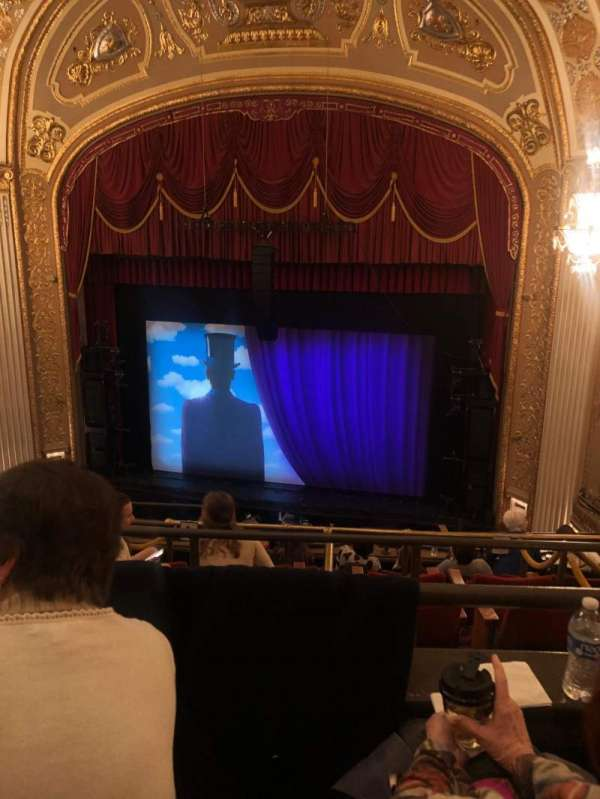 Orpheum Theatre (Memphis), section: Balcony RC, row: B, seat: 119
