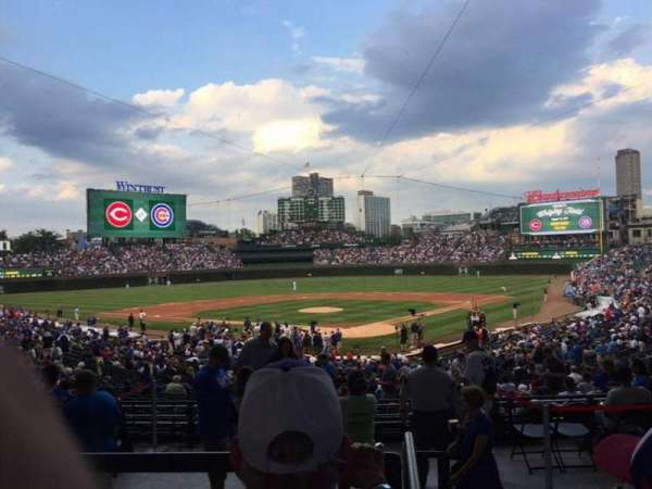 Wrigley Field, section: 216, row: 5, seat: 20