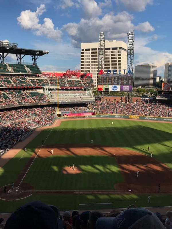 SunTrust Park, section: 322, row: 8, seat: 2