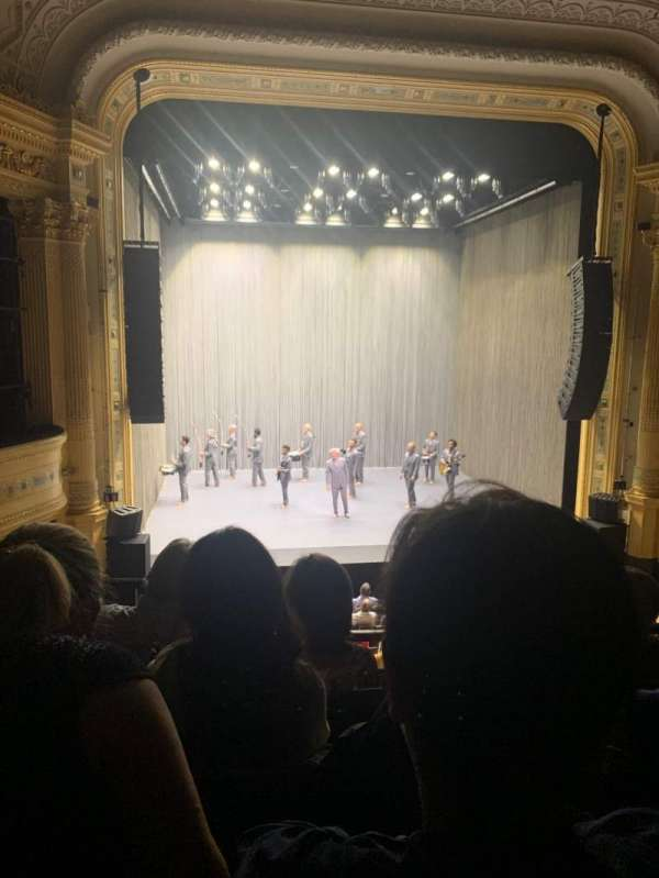 Hudson Theatre, section: Dress Circle C, row: D, seat: 103