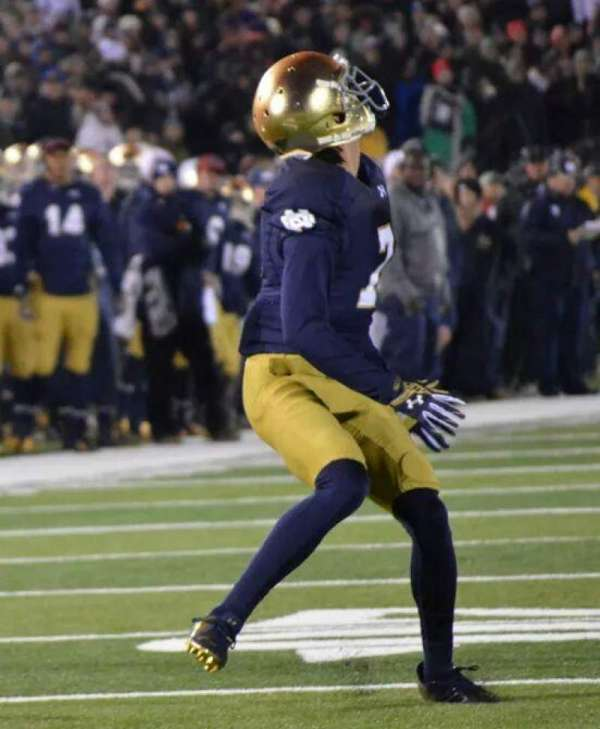 Notre Dame Stadium, section: FL19, row: A, seat: 22