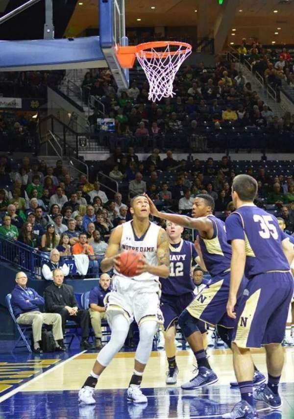 Purcell Pavilion, section: 11, row: A, seat: 14
