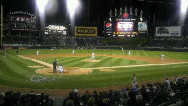 Guaranteed Rate Field, section: 130, row: 18, seat: 9