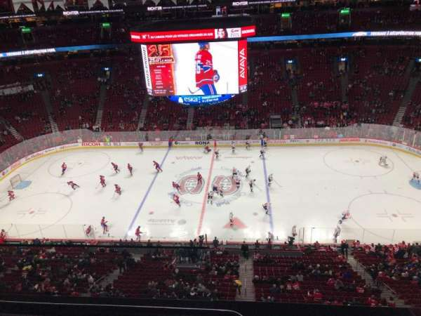 Centre Bell, section: 336, row: B, seat: 1