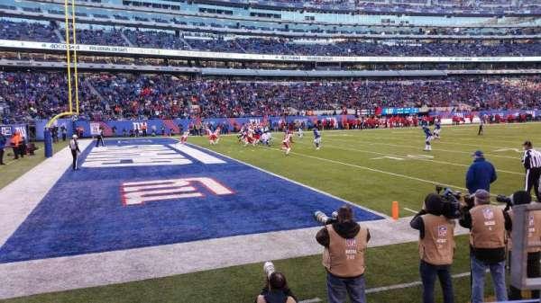 MetLife Stadium, section: 118, row: 2, seat: 2