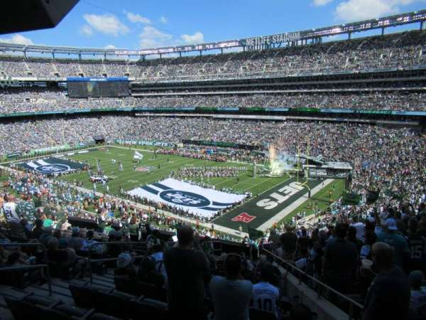Metlife Stadium, section: 232C, row: 14, seat: 3