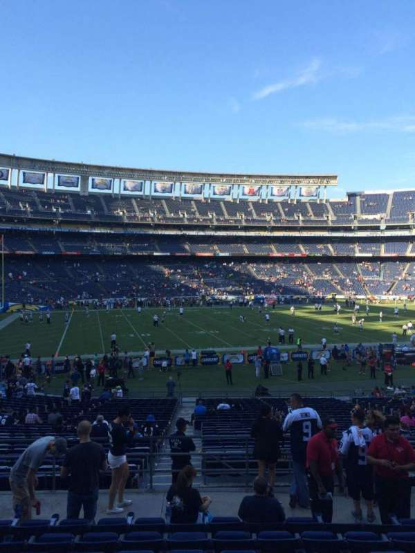 Sdccu Stadium Section P32 Home Of San Diego Chargers San Diego State Aztecs