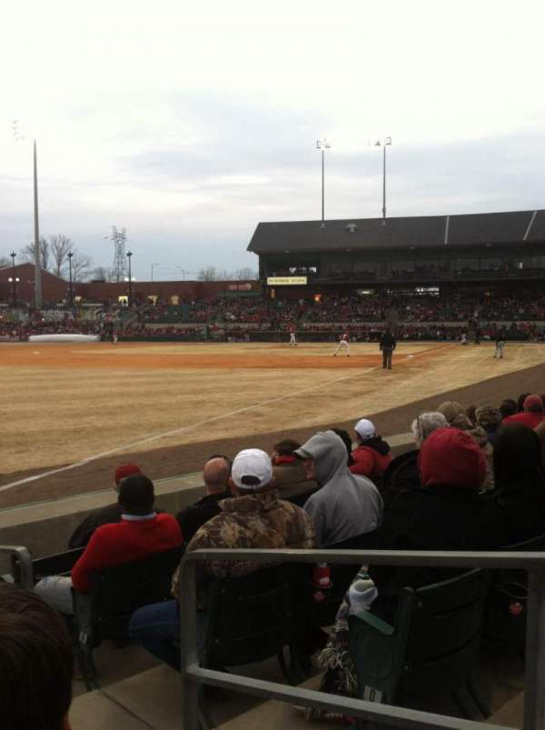 Dickey-Stephens Park, section: 118, row: F, seat: 2