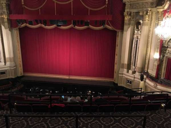 Citizens Bank Opera House, section: Mz Ctr Rt, row: D, seat: 126
