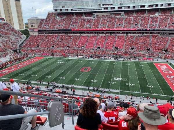 Ohio Stadium, section: 18C, row: 13, seat: 34