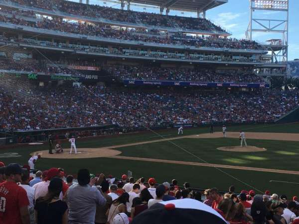 Nationals Park, section: 130, row: Y, seat: 12