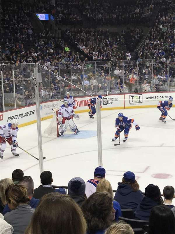 Barclays Center, section: 9, row: 8, seat: 9