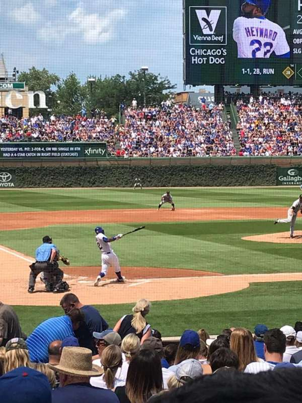 Wrigley Field, section: 120, row: 5, seat: 14