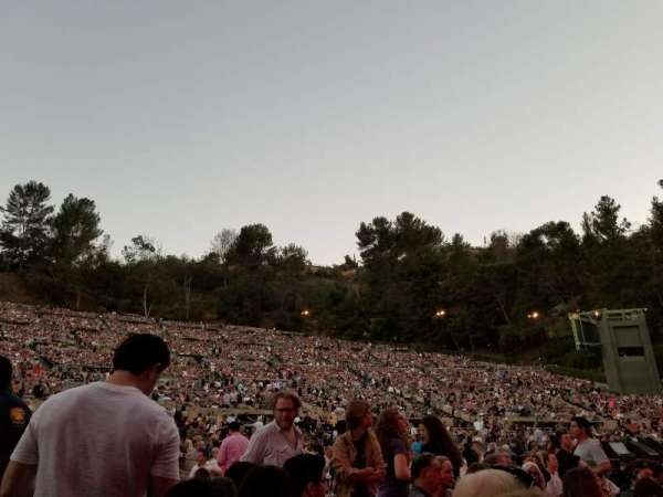 Hollywood Bowl, section: Pool A, row: 5, seat: 1
