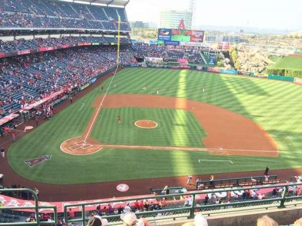 Angel Stadium, section: V424, row: E, seat: 2