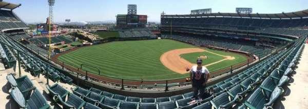 Angel Stadium, section: V410, row: B, seat: 8