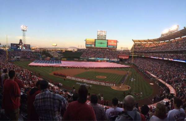 Angel Stadium, section: C322, row: d, seat: 7