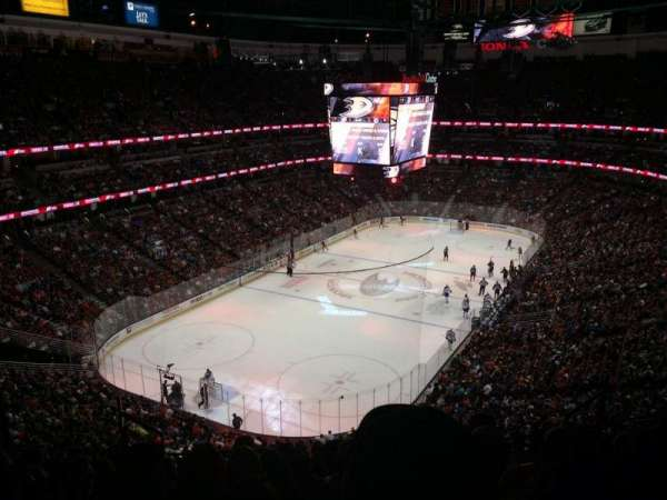 Honda Center, section: 419, row: K, seat: 8