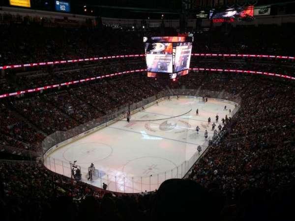 Honda Center, section: 419, row: K, seat: 8