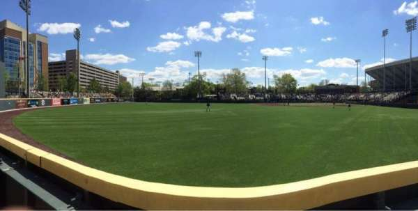Hawkins Field, section: n, row: 1, seat: 1